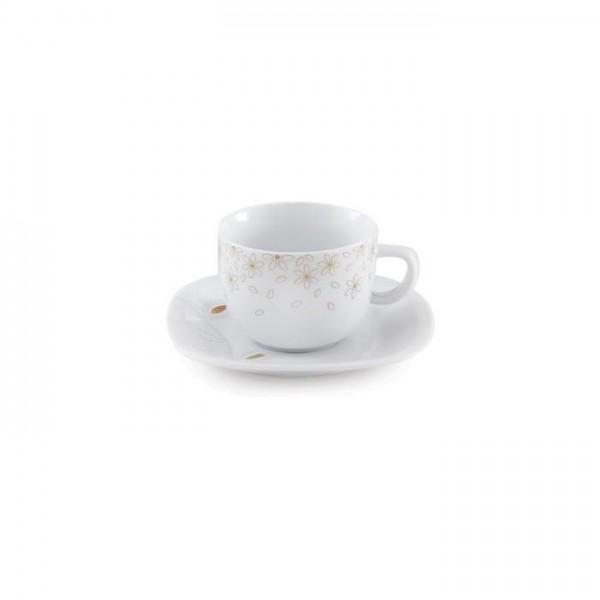 Zarin Iran Quattro Golden Lotus 12pcs Tea Set