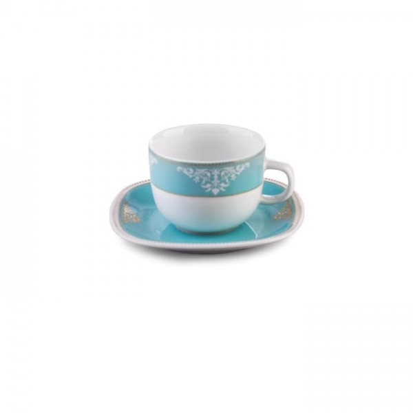 Zarin Iran Quattro Armitage Turquoise 12pcs Tea Set