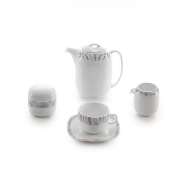 Zarin Iran Quattro Louren Gold 17pcs Tea Set