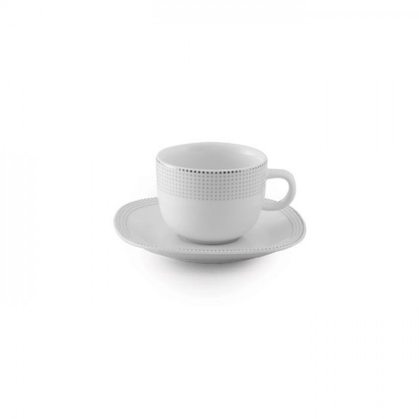 Zarin Iran Quattro Louren Platinum 12pcs Tea Set